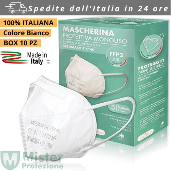 MASCHERINA FFP2 MEDMASK MADE IN ITALY T5140 CE0477